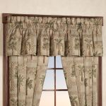 Home Design Plans Palm Tree Kitchen Curtains