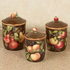 Fruit Decor For Kitchen Wall Coverings Capri Canister Set Touch To Zoom