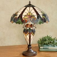 Clavillia Stained Glass Table Lamp