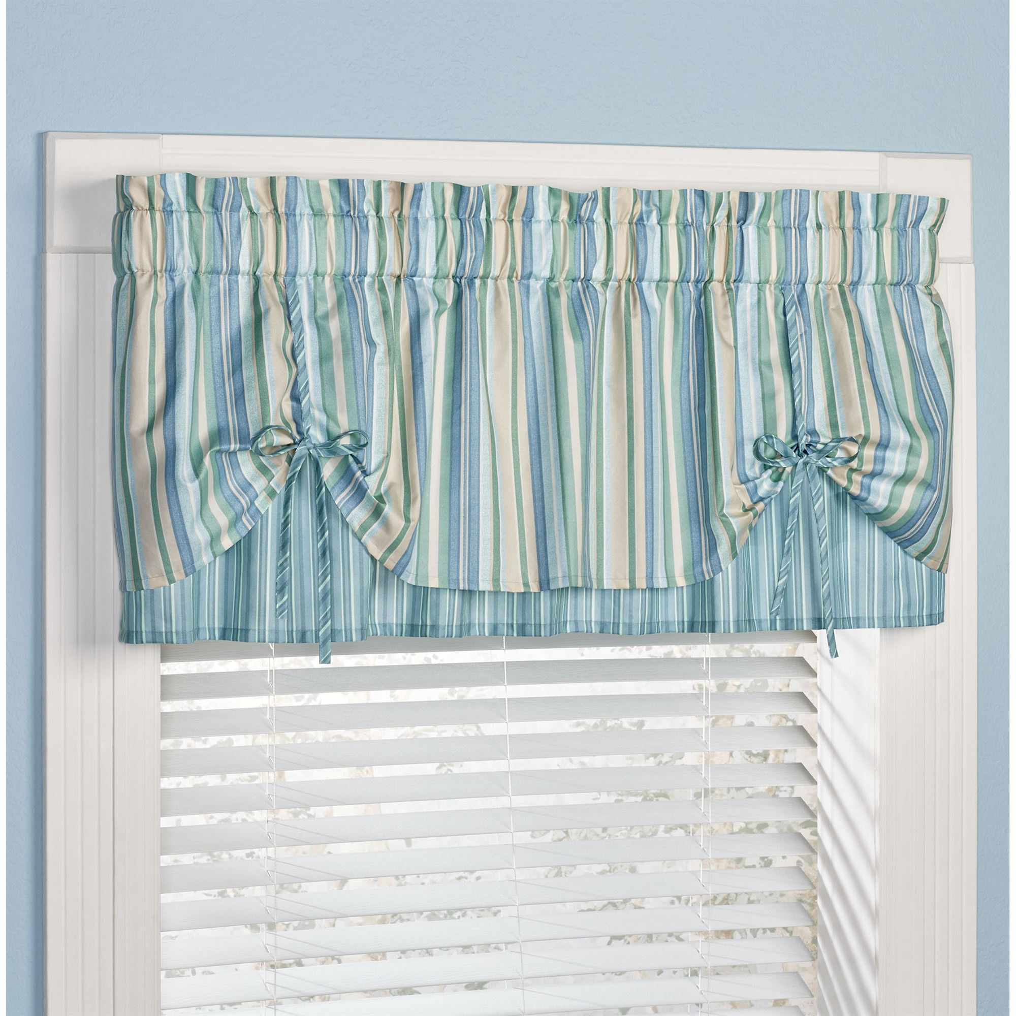 Coastal Window Valances