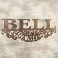 Kinship Bronze Family Name and Year Personalized Metal ...