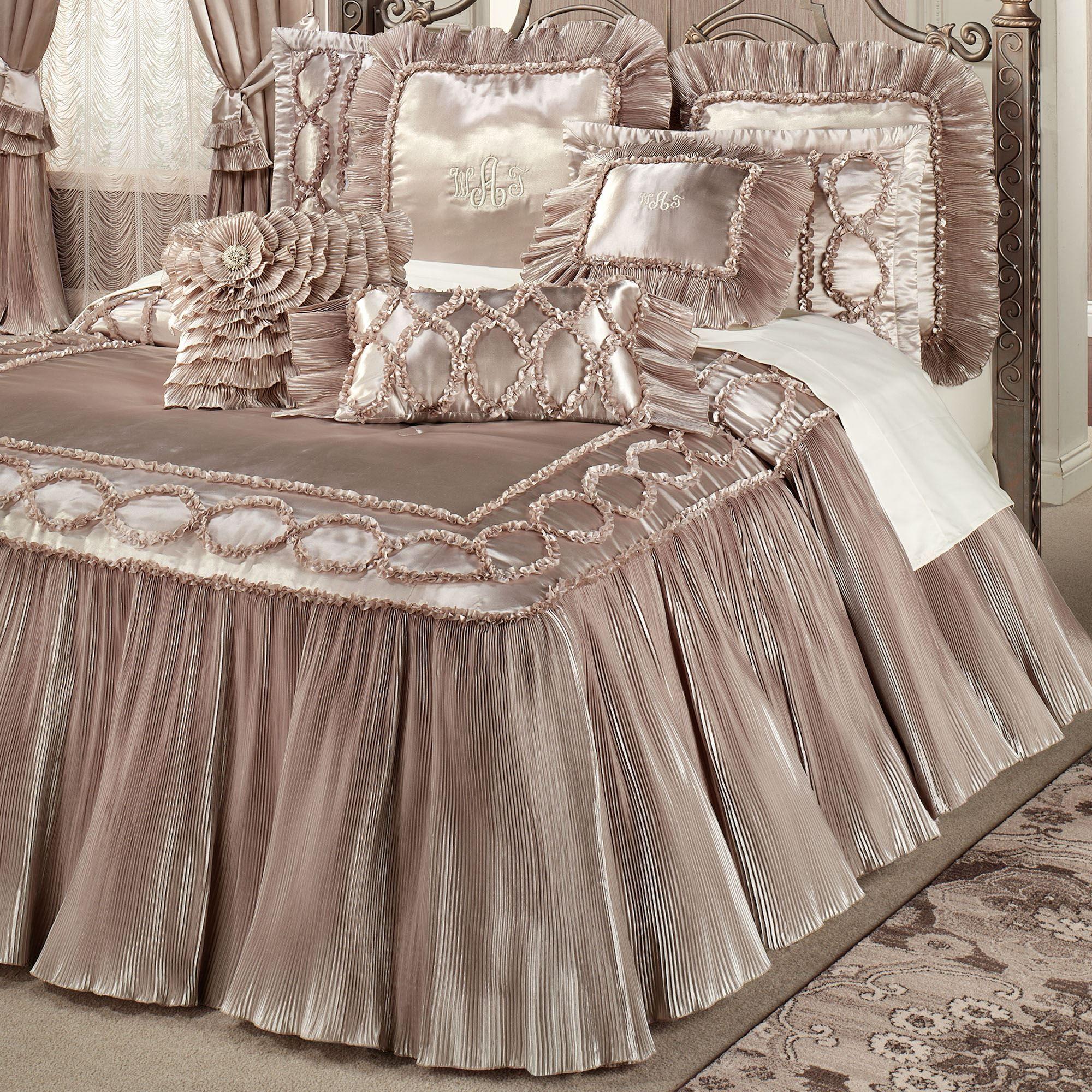 Ruffle Bedding Sets Size King