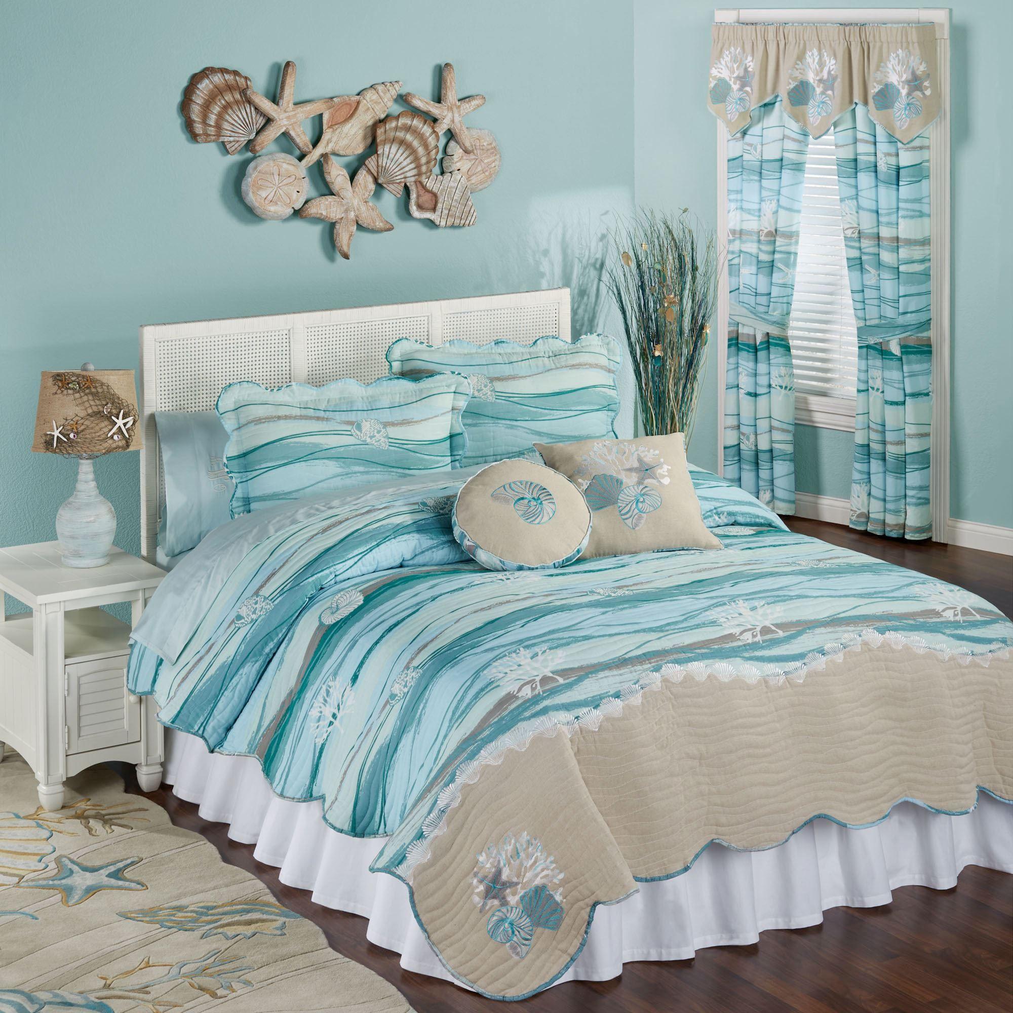 machine washable kitchen rugs lights seaview coastal quilt set