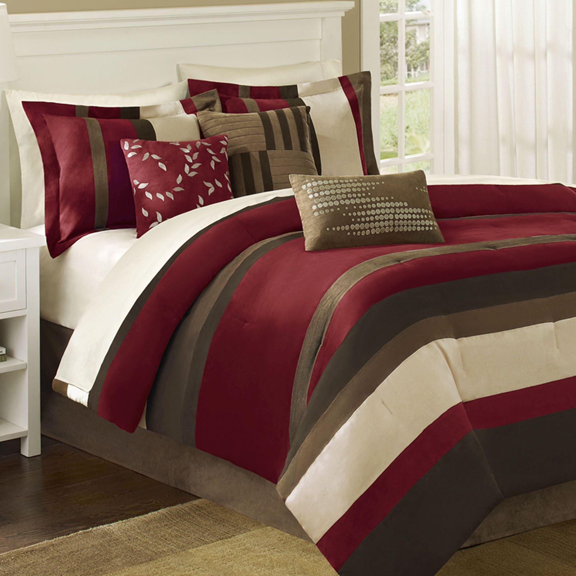 3 piece kitchen rug set moen single handle faucet boulder stripe 7 pc comforter bed