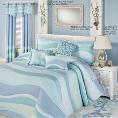 Kitchen Rugs Washable Copper Hardware Ocean Tides Lightweight Oversized Coastal Bedspread