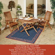 Lanai Wood Patio Furniture