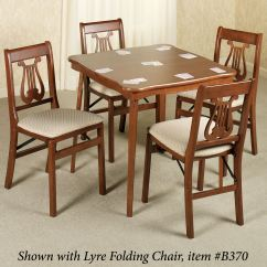 Folding Card Table And Chairs Best Gaming Chair Uk Scalloped