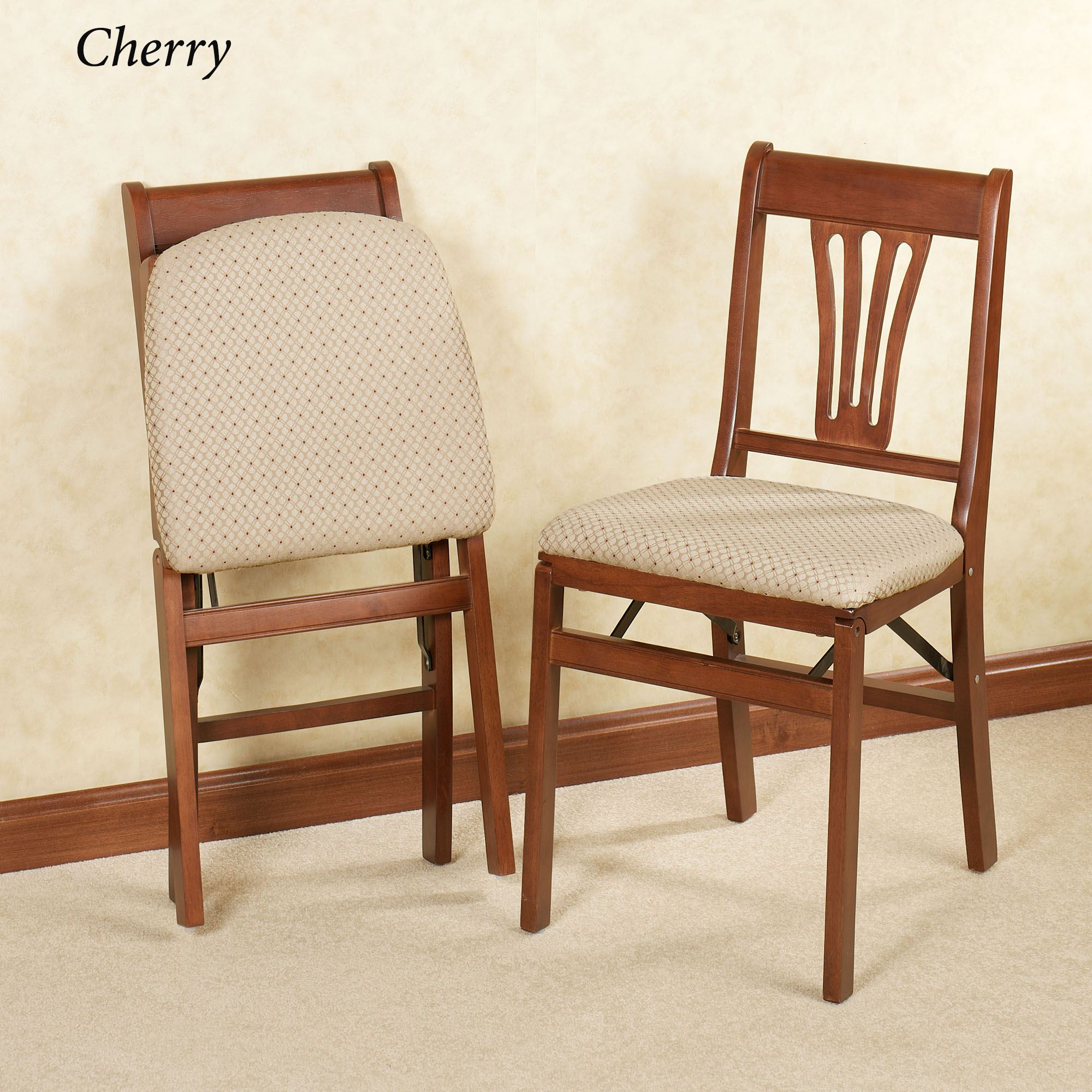 brown wooden folding chairs swivel leather chair french country pair play video
