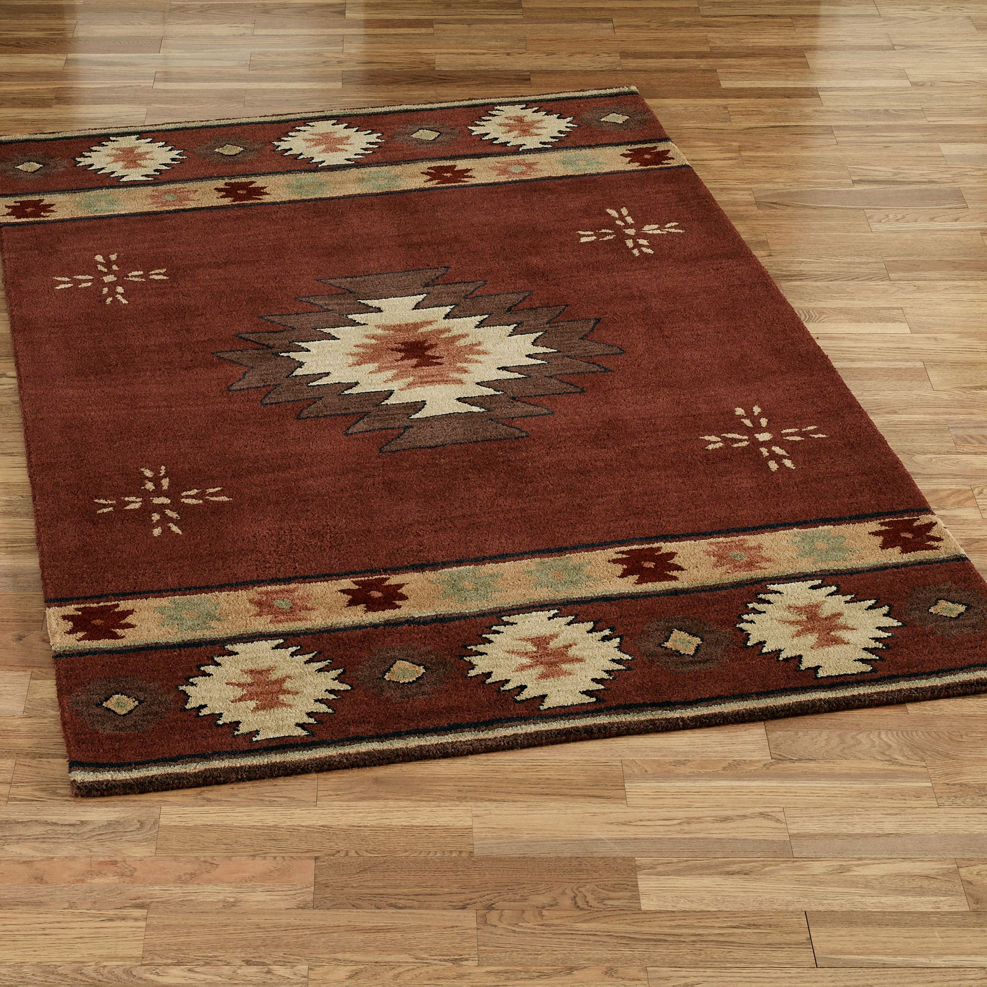 Southwest Diamond Area Rugs