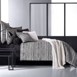 Flen Black And White Striped Comforter Bedding By Oscar Oliver New York City