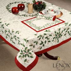 Lenox Christmas Chair Covers Office Gas Strut Holiday Table Linens