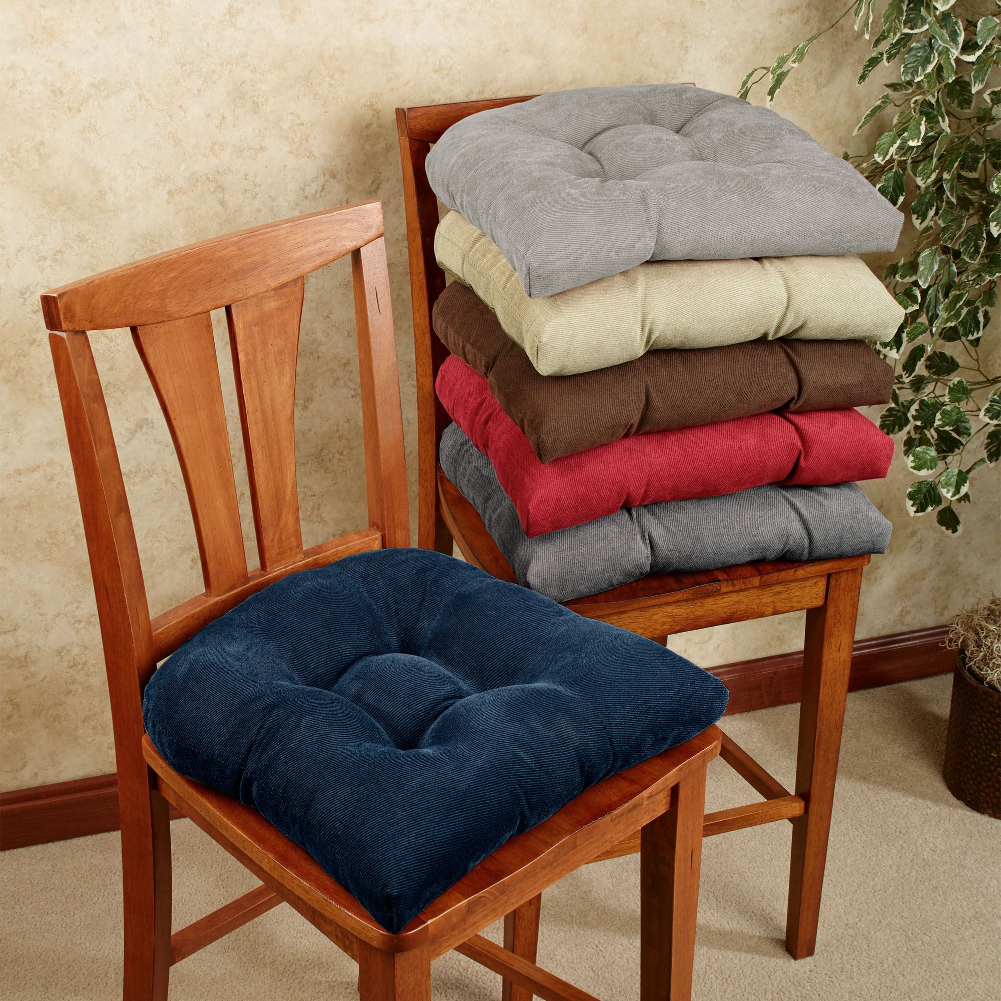 chair stool covers leather wingback with nailhead trim twillo slip resistant cushion set