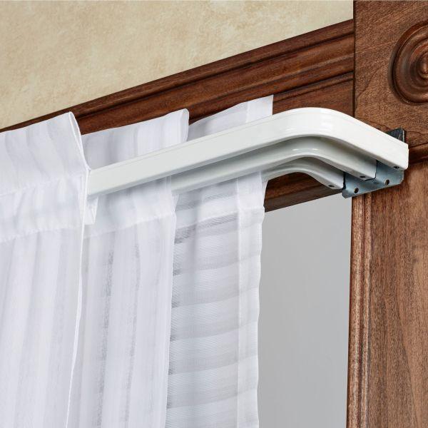 Tripartite Triple Curtain Rod Set - 31