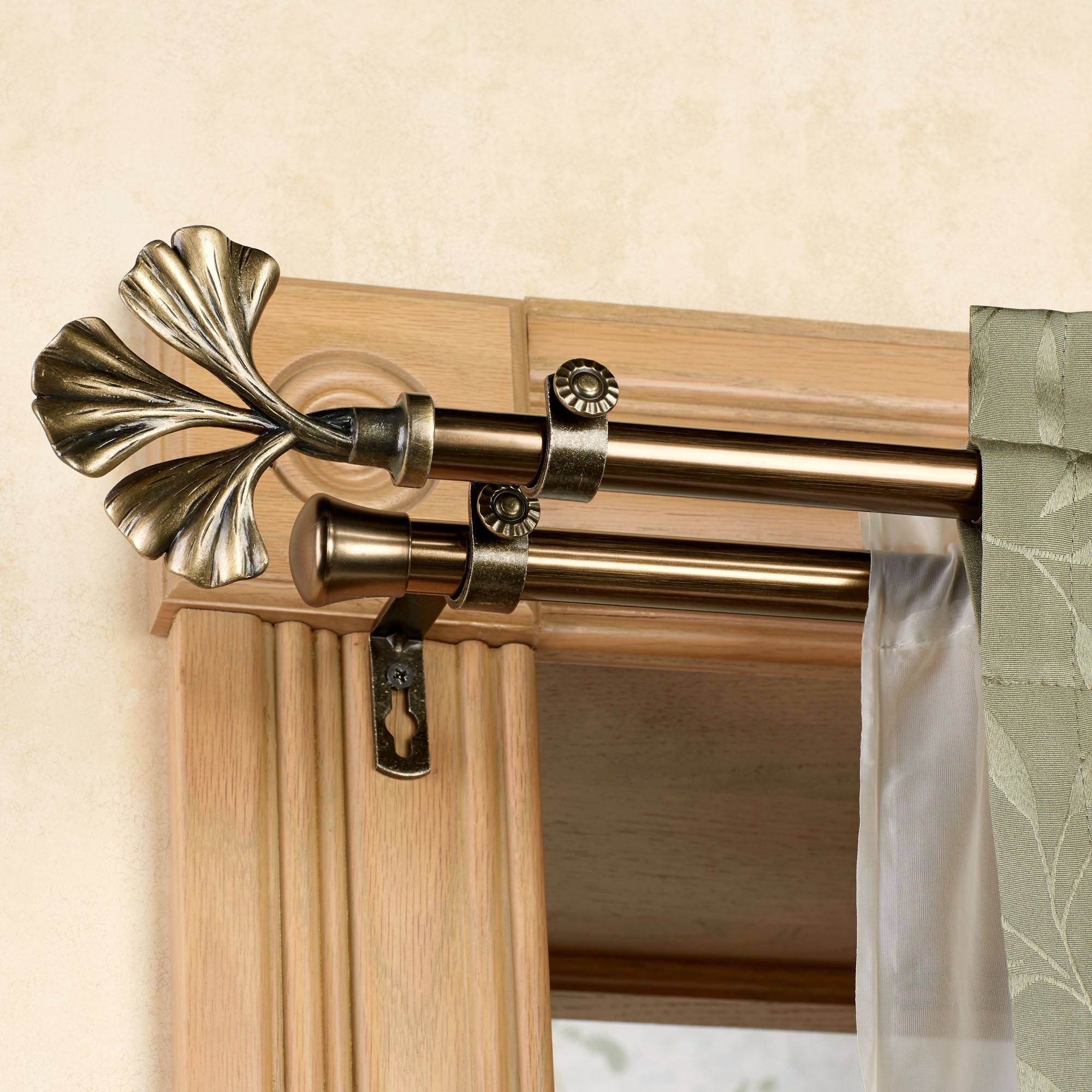 Fortune Double Curtain Rod Set  28 to 170