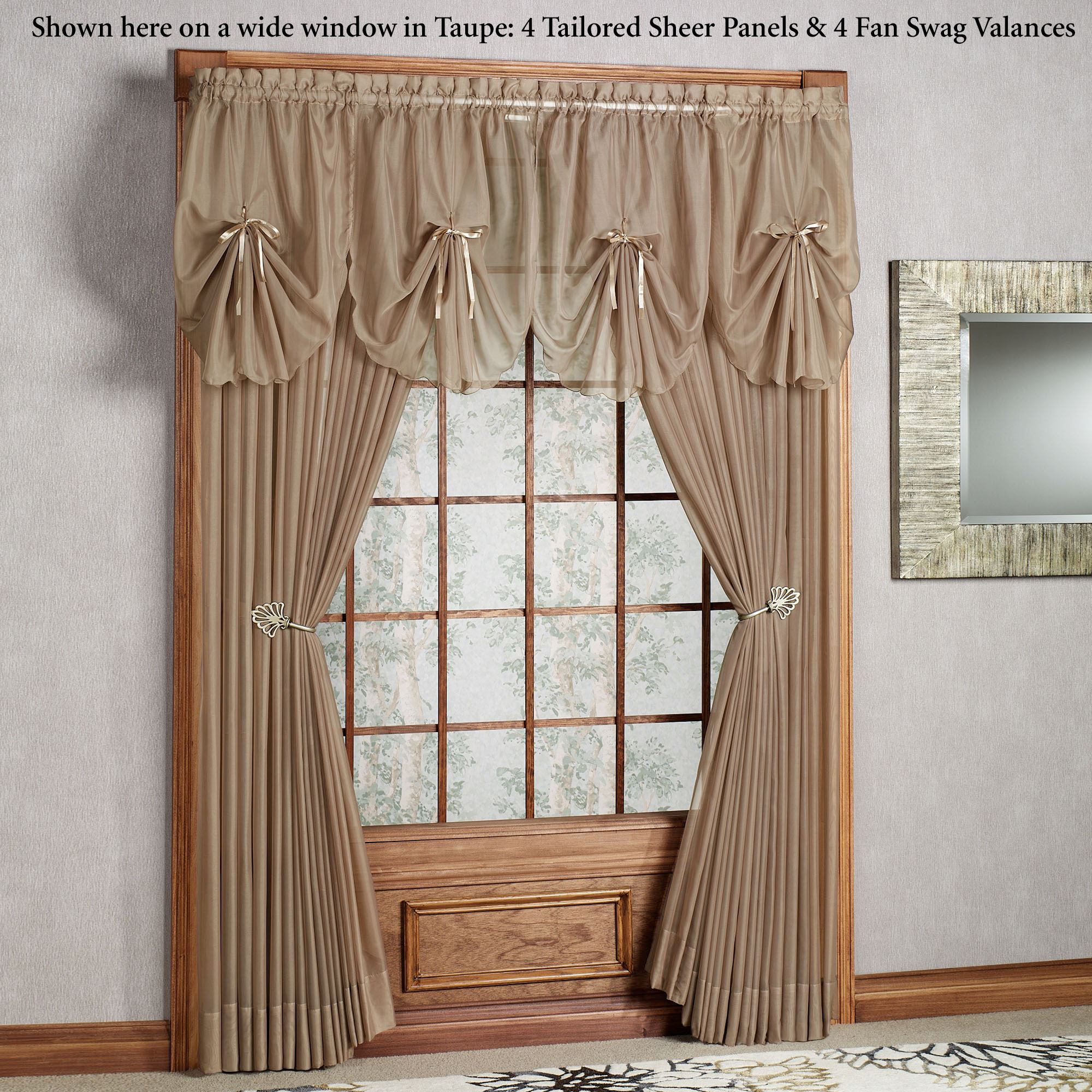 Swag Curtains Images