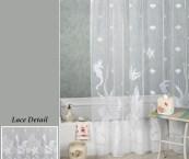 see through shower curtains