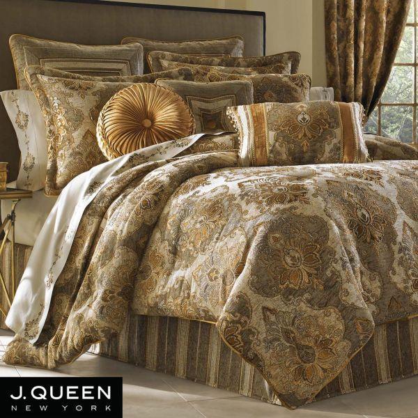 Bradshaw Damask Comforter Bedding Queen York