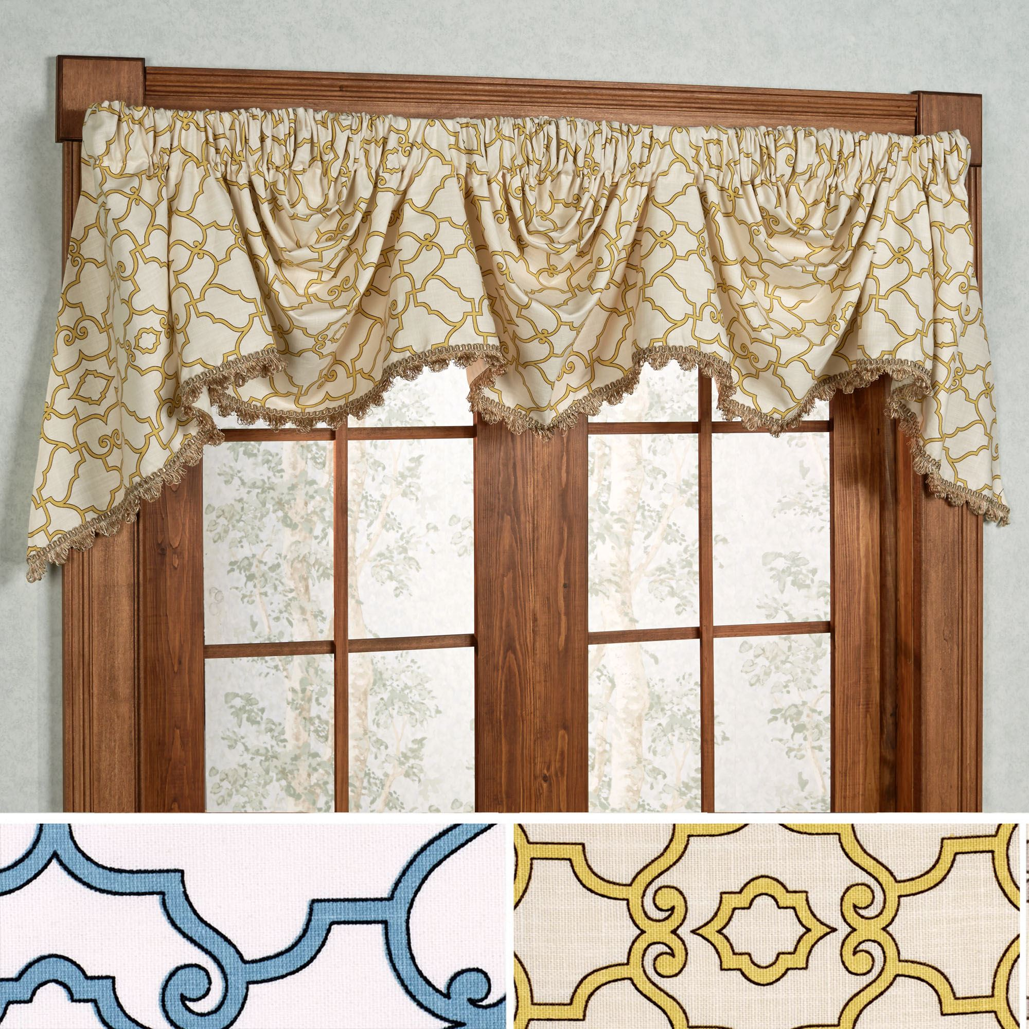 Arabesque Empire Valance