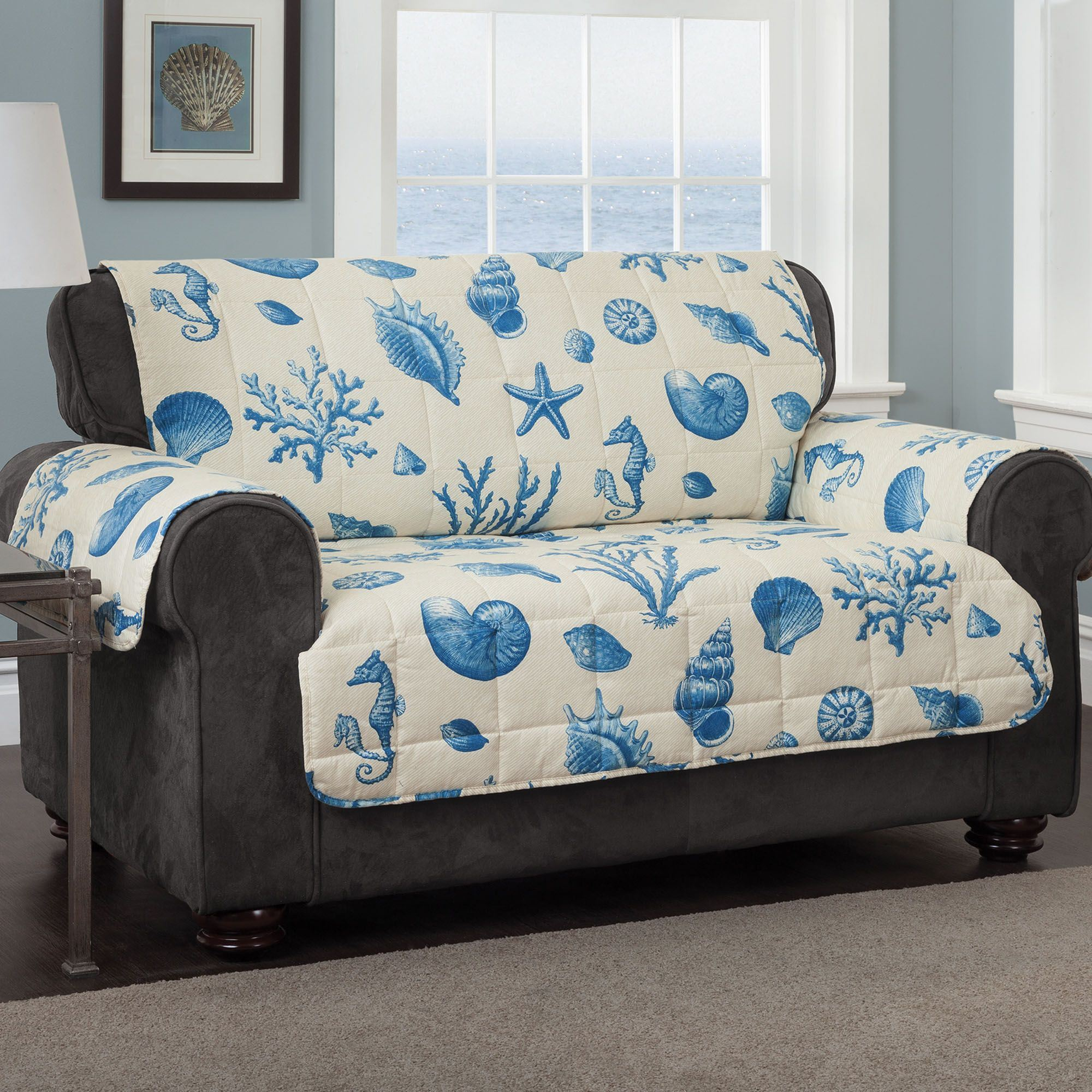 navy blue pet sofa cover steel set coimbatore furniture protector sure fit deluxe thesofa