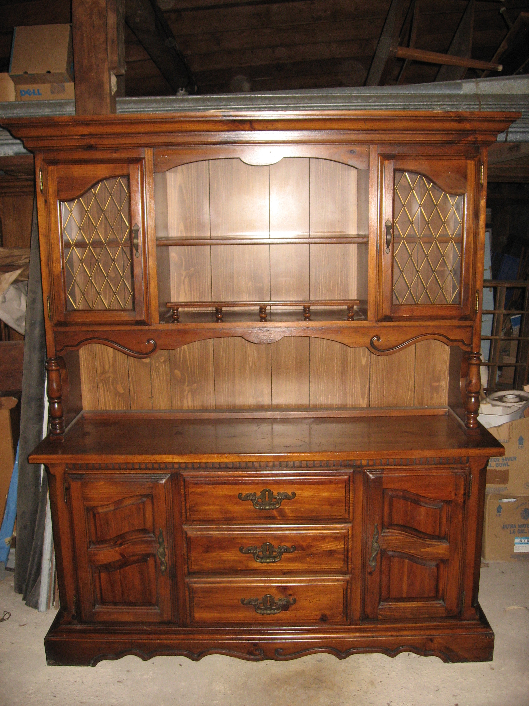 China Cabinet  Hutch  Buffet For Sale