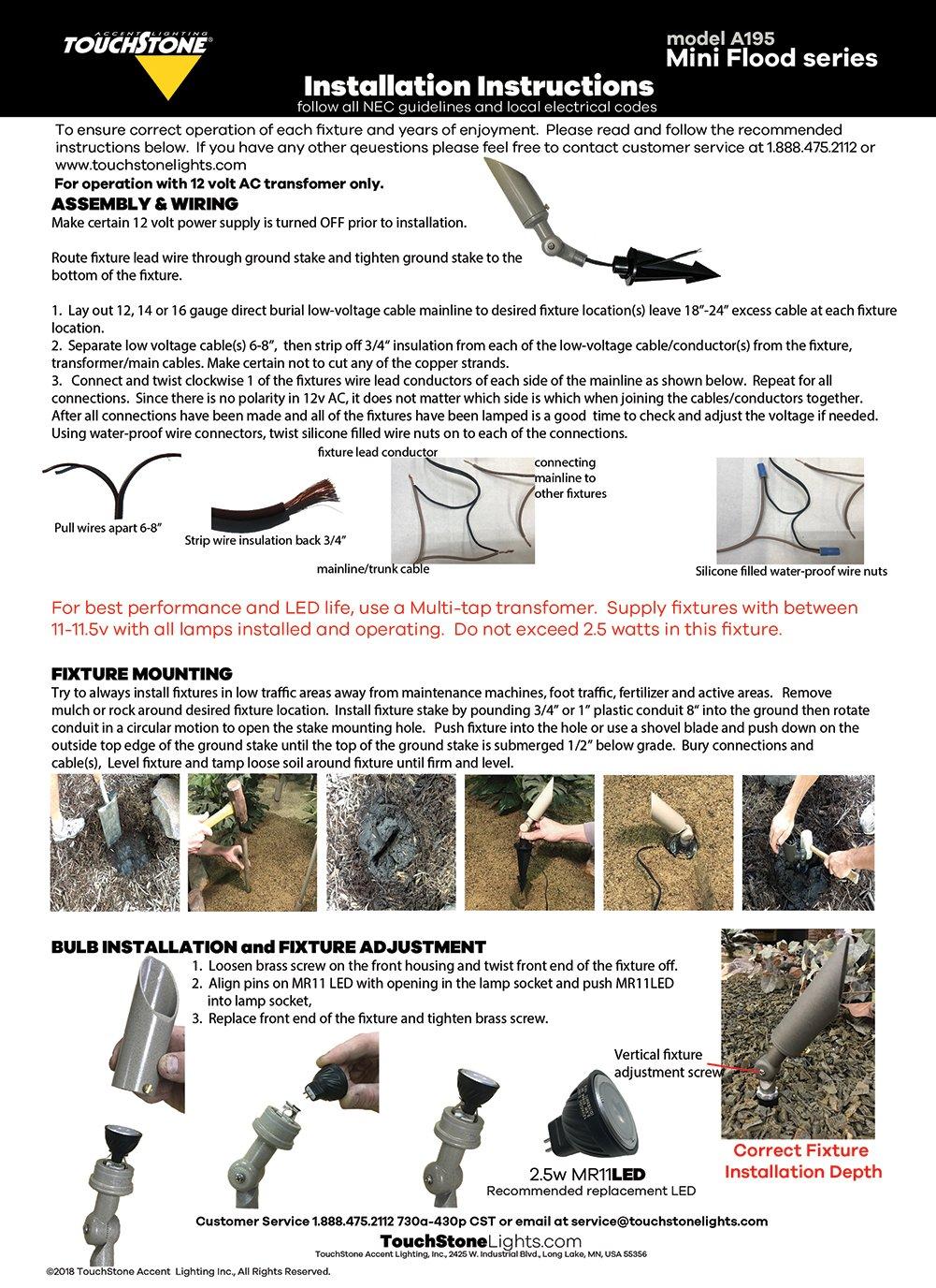 hight resolution of mini flood series instructions