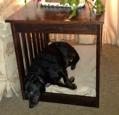 Dog Bed End Table Furniture