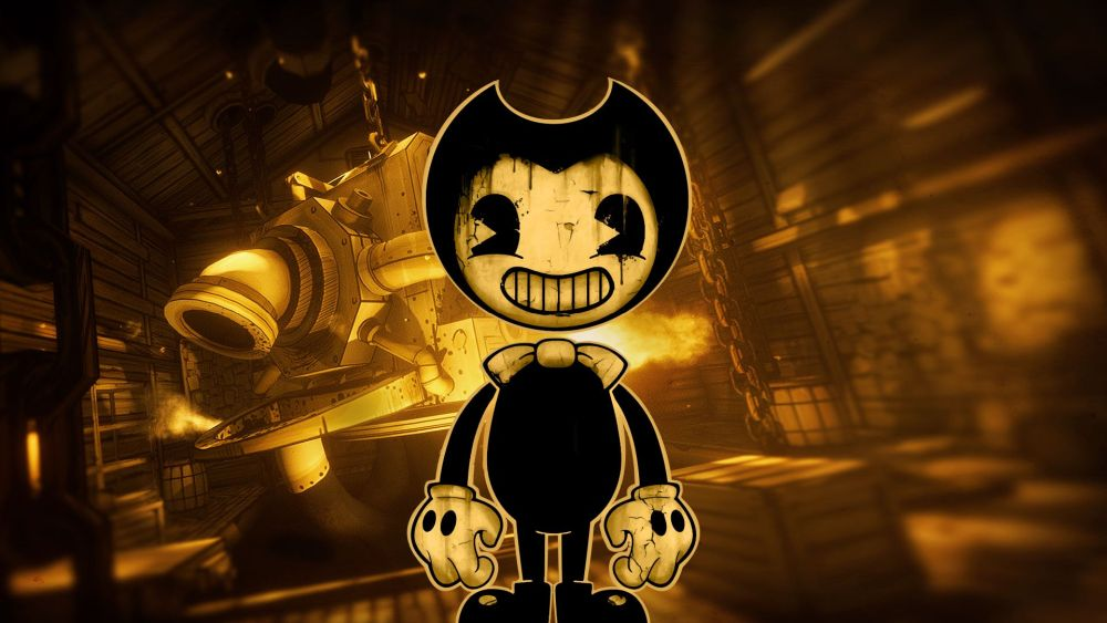 Machine Bendy Ink And Face Ink Bendy