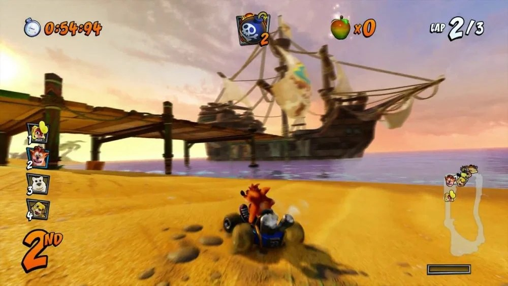 Image result for Crash Team Racing Nitro Fueled gameplay