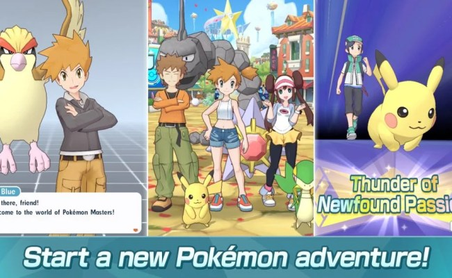 Pokemon Masters Guide Cheats Tips To Improve Your Game