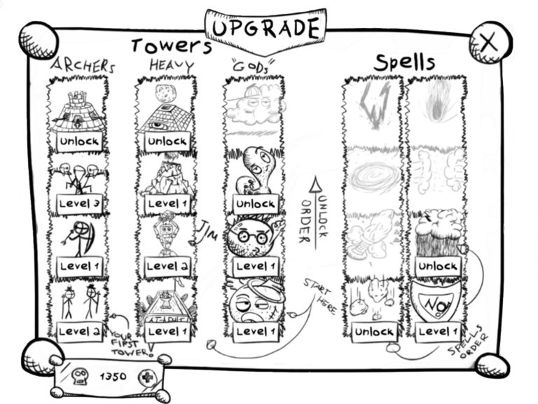 Sketch Book Doodles Come to Life in Tower Defense Game