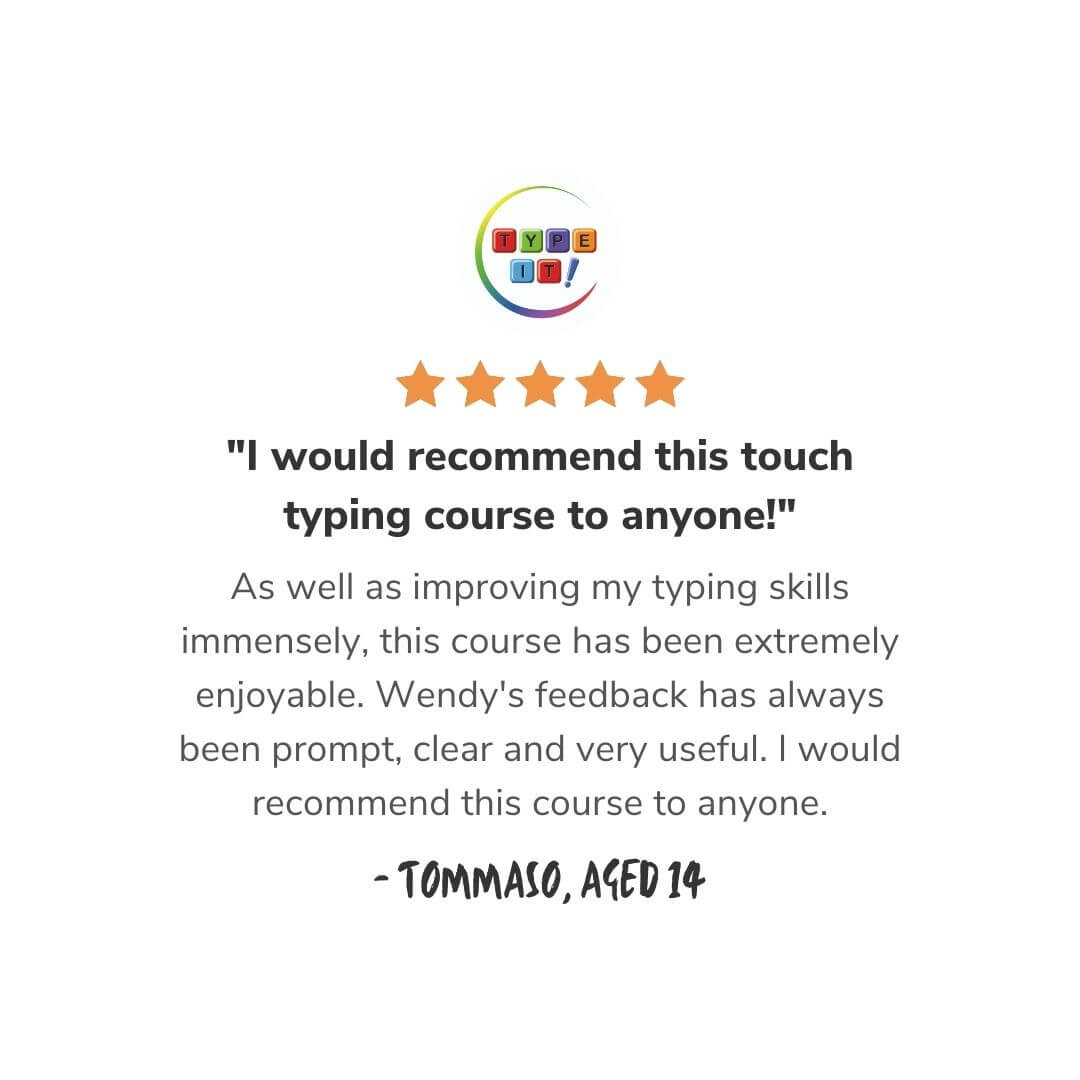 Type IT! student review
