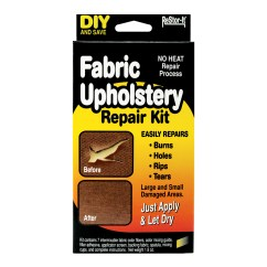 Vinyl Chair Repair Kit Round Lounge Outdoor Fabric Upholstery Touch Up Zone