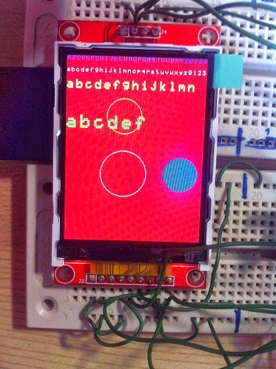 Using picojpeg library on a PIC with ILI9341 320×240 LCD