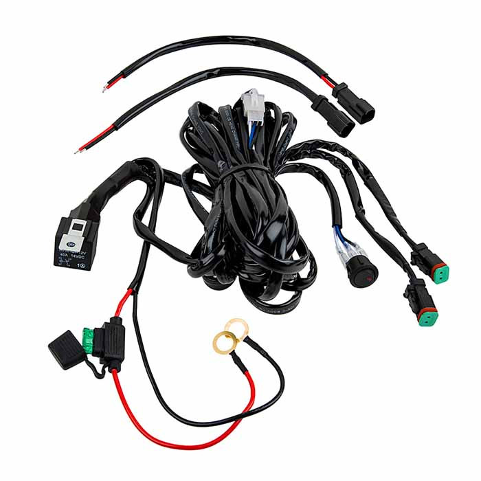 Two Way LED Light Wiring Harness
