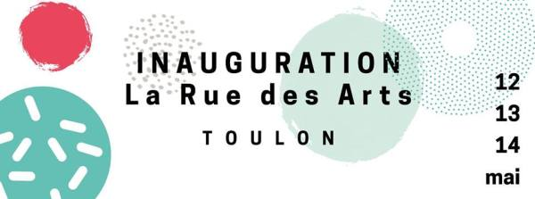 INAUGURATION LA RUE DES ARTS
