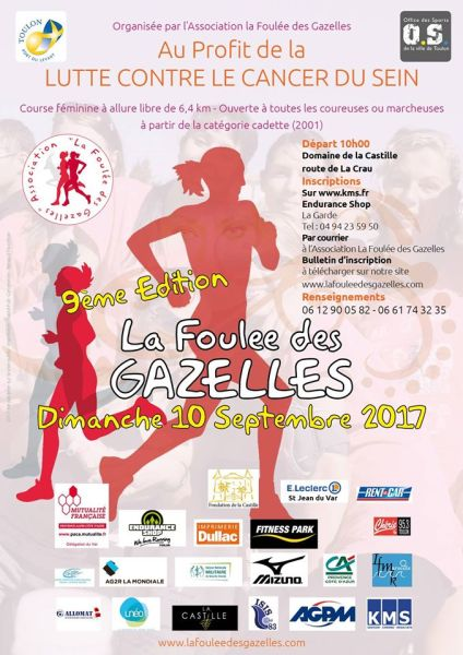 LA FOULEE DES GAZELLES 2017