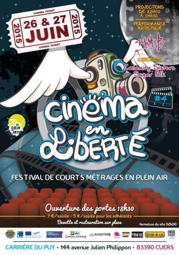 FESTIVAL CINEMA EN LIBERTE CUERS