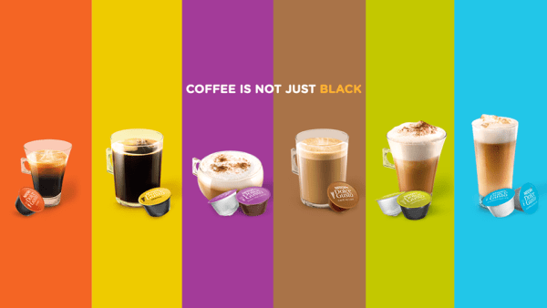 NESCAFE DOLCE GUSTO COFFEE IS NOT JUST BLACK