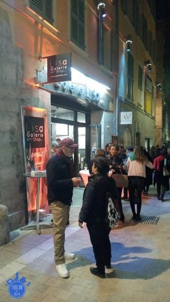 GALERIE LISA RUE DES ARTS TOULON