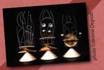 Exposition de sculptures sonores Marionnettes et Cie à La Valette du Var