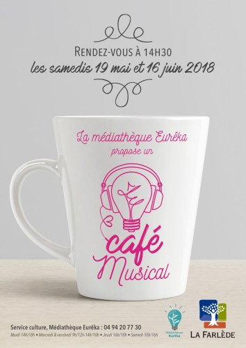 CAFE MUSICAL MEDIATHEQUE EUREKA LA FARLEDE