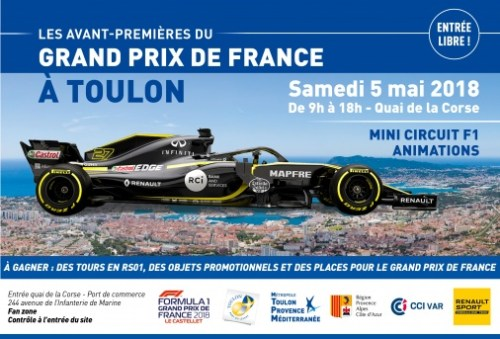 GRAND PRIX DE FRANCE A TOULON