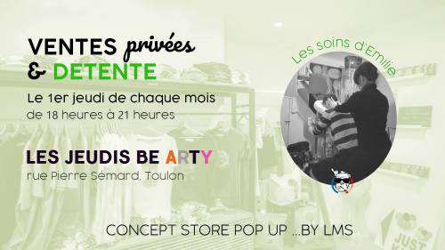 CONCEPT STORE POP UP... BY LMS