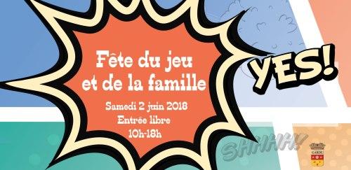 FETE DU JEU ET DE LA FAMILLE A LA GARDE 2018