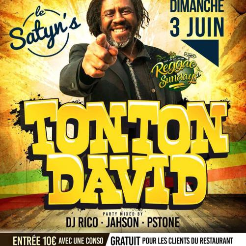 TONTON DAVID AU SATYN'S A TOULON