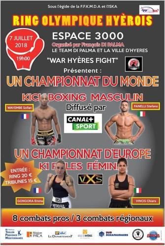 Championnat du monde Kickboxing