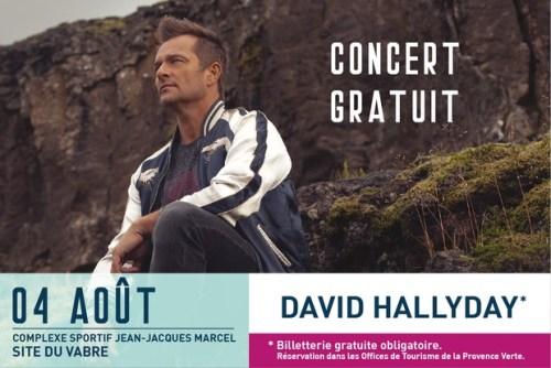 CONCERT GRATUIT DAVID HALLYDAY A BRIGNOLES