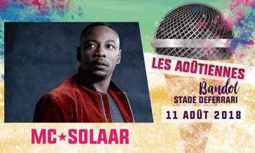 FESTIVAL LES AOUTIENNES 2018 MC SOLAAR
