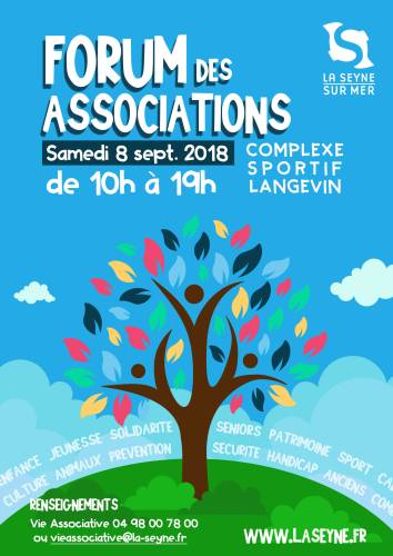 FORUM DES ASSOCIATIONS A LA SEYNE SUR MER