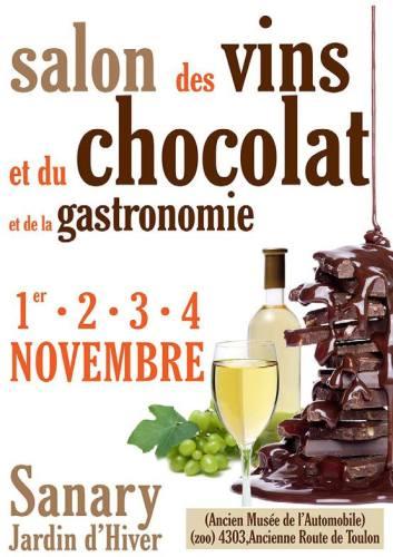 SALON DE VINS ET DU CHOCOLAT ET DE LA GASTRONOMIE A SANARY